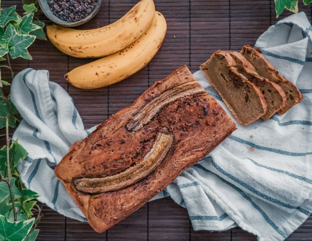 quick and easy bread with bananas