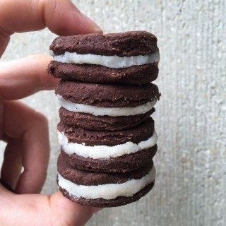 Vegan Healthy Sugarfree Glutenfree Oreos