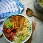 Quinoa Tofu Buddha Bliss Bowl