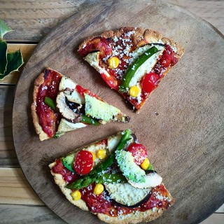 Vegan Glutenfree Pizza