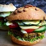 Exotic Rice- Lentil Burger |Grilled