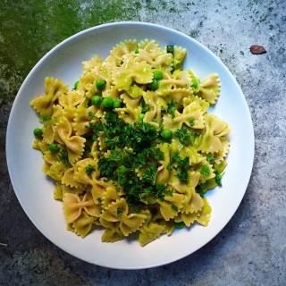 Green Veggie Sauce Pasta
