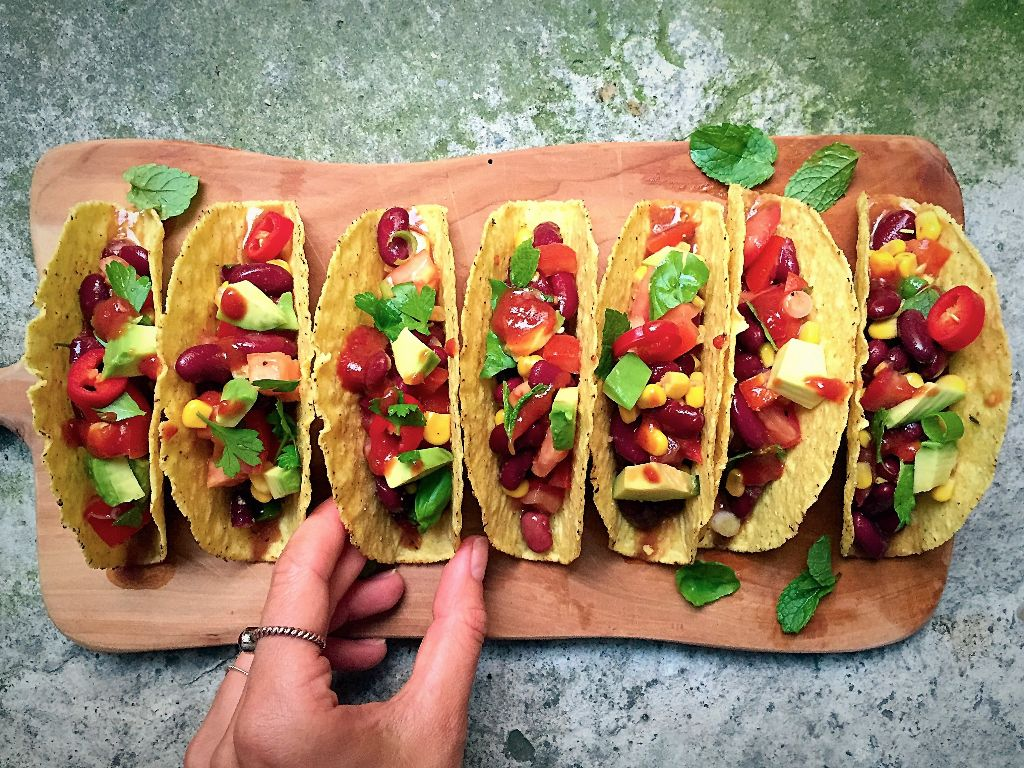 Mexican Veggie Tacos