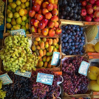 Rethymno fruit market