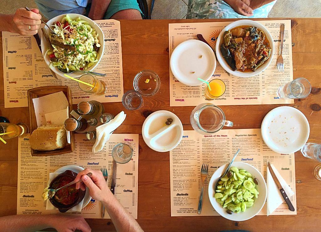 Lunch at Taverna Vatalis