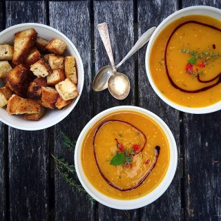 Light Hokkaido Pumpkin Soup