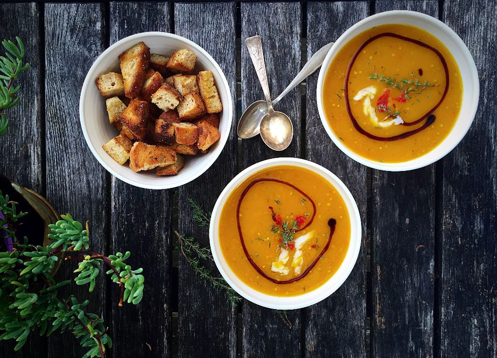 Light Pumpkin Soup