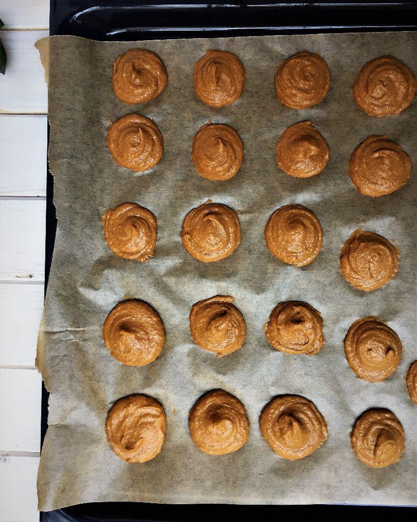 Butternut-Persimmon-Spice Cookie
