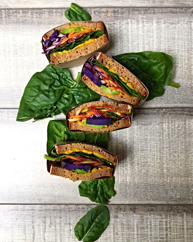 rainbow Sandwich Wrapped