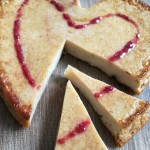 Light Vegan Cheesecake Heart