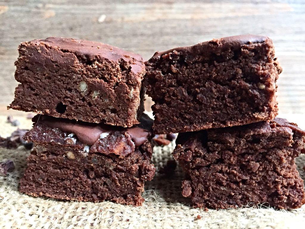Weiße Bohnen Brownies
