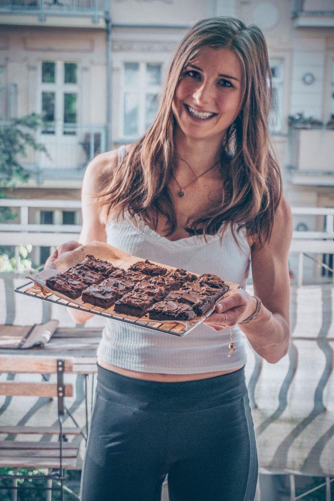 glutenfree lowfat sweet potato brownies