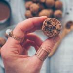 Protein Peanut Mocha Balls