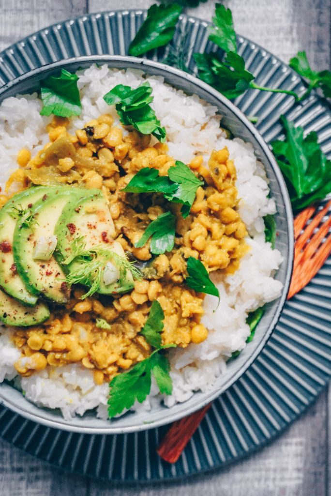Indian Curry with Chickpeas