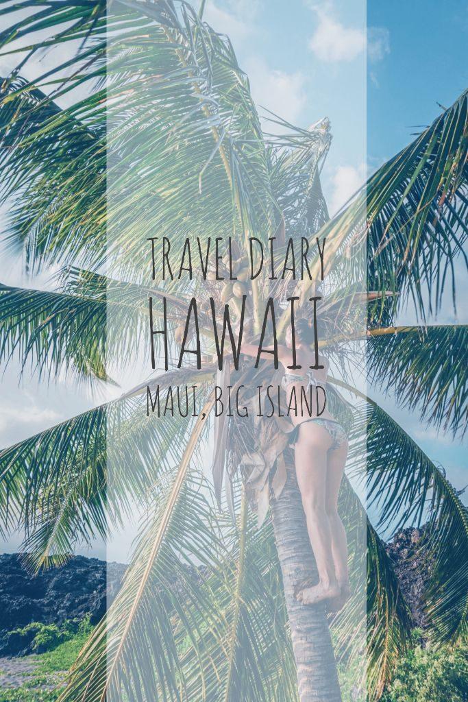 Travel Diary Maui Big Island