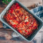 Easy Baked Cabbage with Tomato