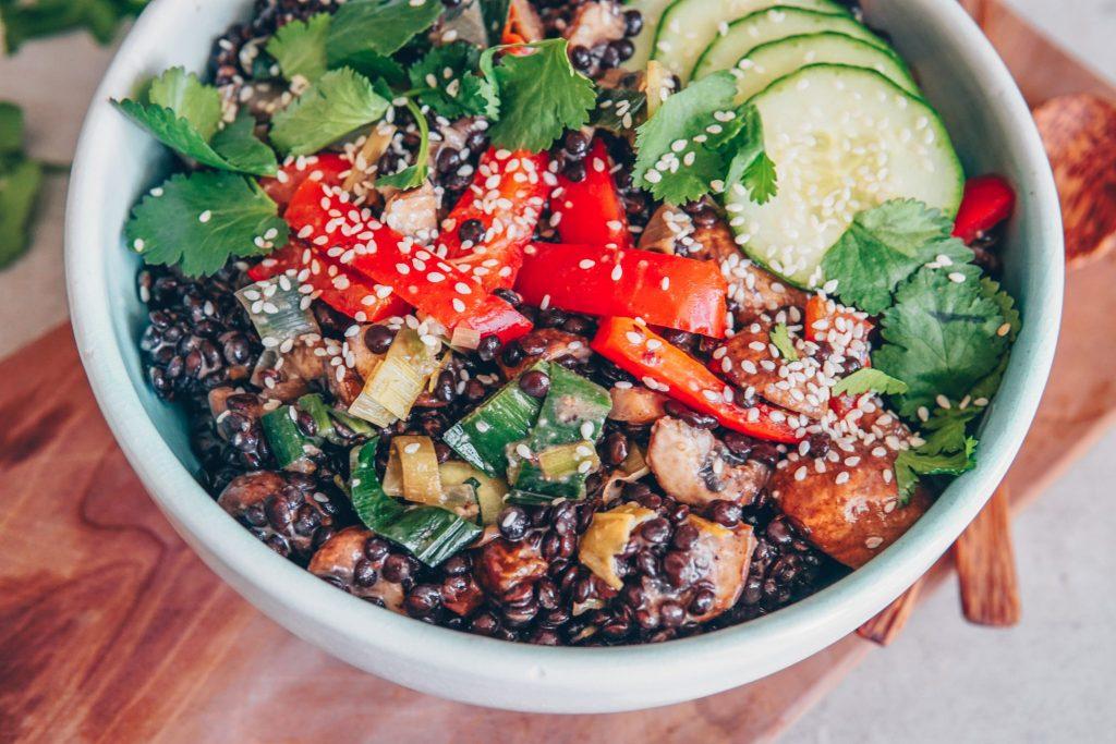 Schneller Salat zum mitnehmen