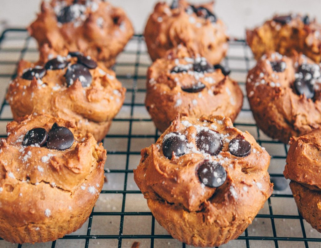 Kürbis-Gewürz Muffins, hclfv