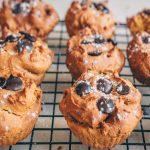 Kürbis-Gewürz Muffins | vegan, gluten-frei, ölfrei