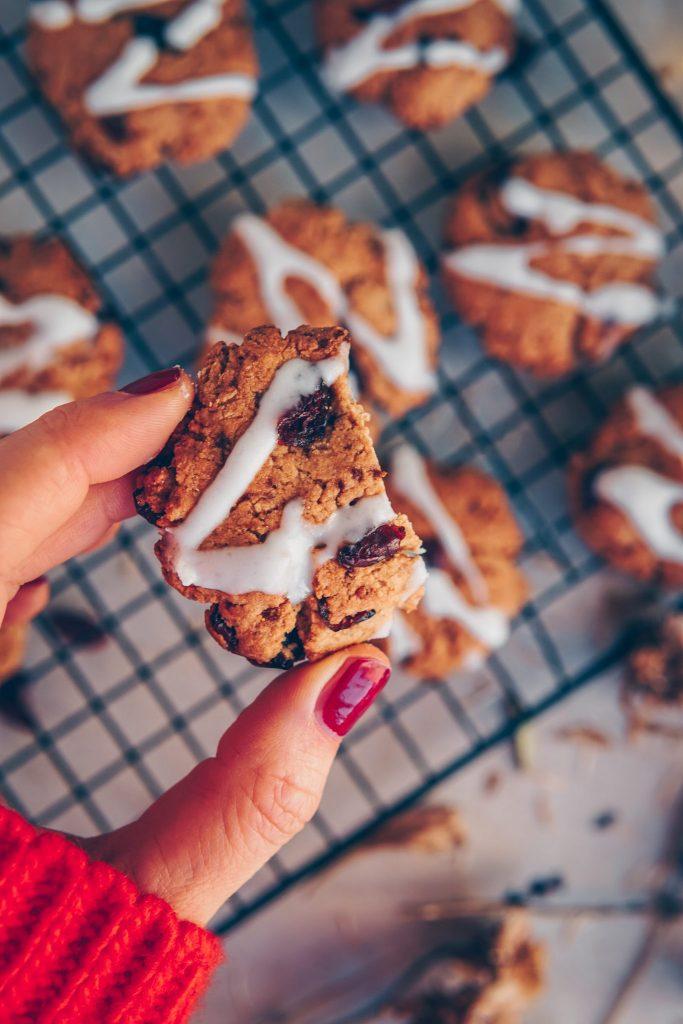 gesunde, glutenfreie Weihnachtsplätzchen