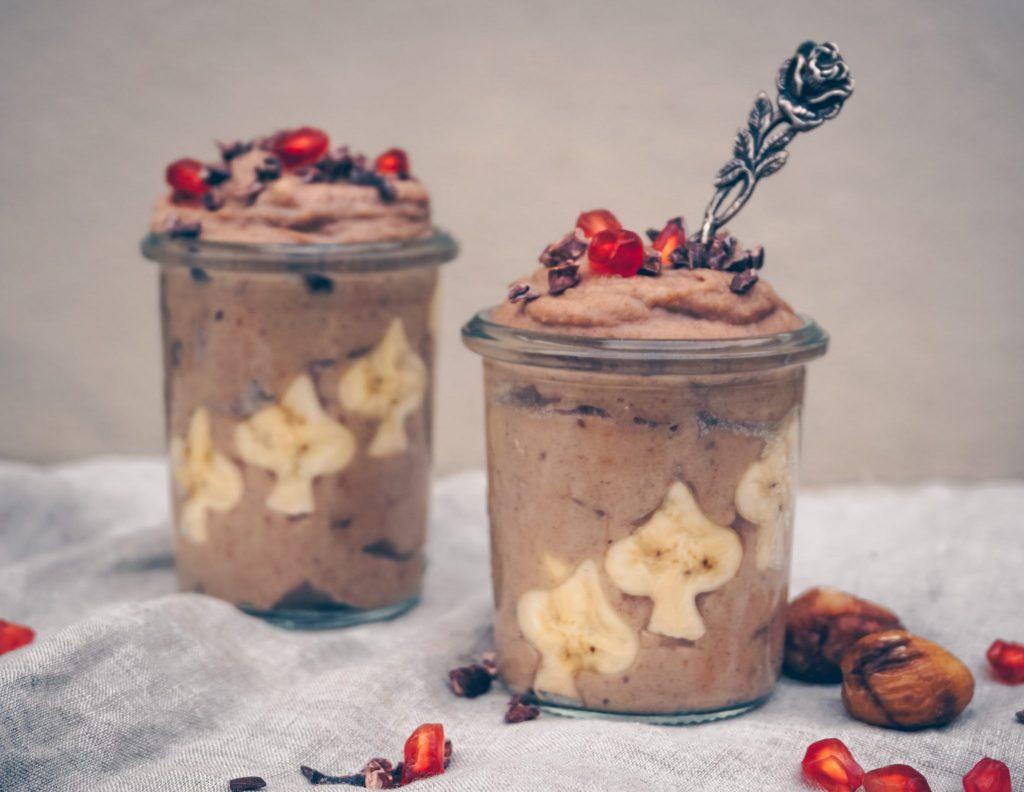 sugar free, vegan, gluten-free desser