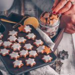 Healthy vegan cinnamon stars