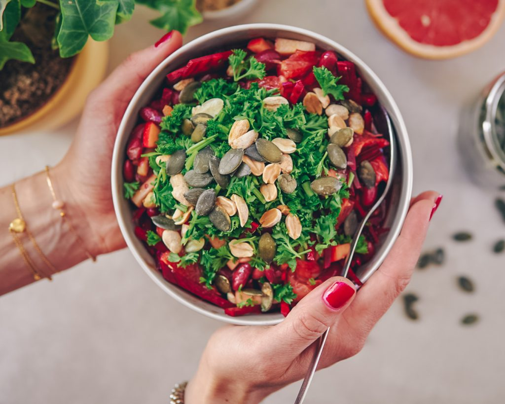 quick, vegan, healthy food