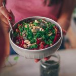 Beetroot kidney bean salad – for more balance