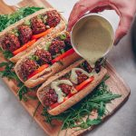 Simple Vegan Meat Balls – Hot Dog Style