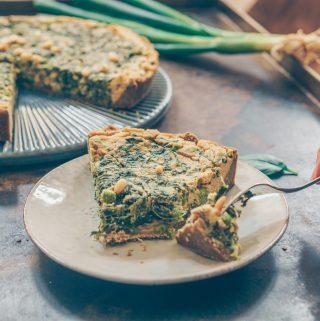 gluten free vegan quiche