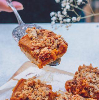 Streuselkuchen mit Kürbis