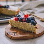 vegan, glutenfree protein cheesecake