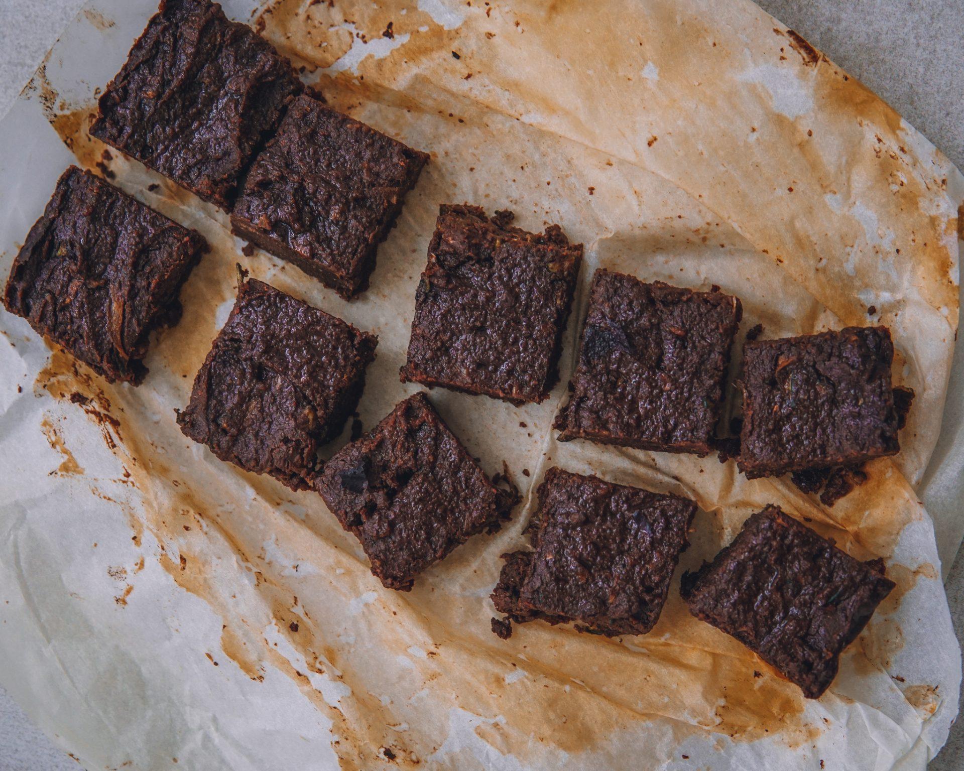 Zucchini-Brownies – vegan, glutenfrei und gesund